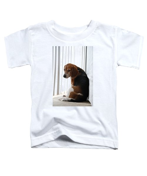 Beagle Attitude Toddler T-Shirt