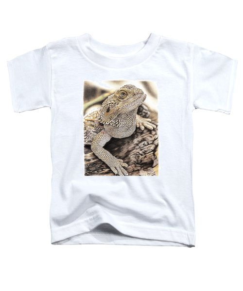 Bearded Dragon Toddler T-Shirt