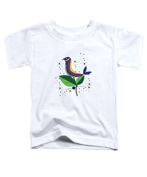 Beautiful Bird Toddler T-Shirt