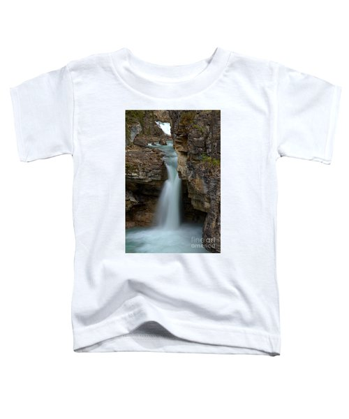 Beauty Creek Blue Waterfall Toddler T-Shirt