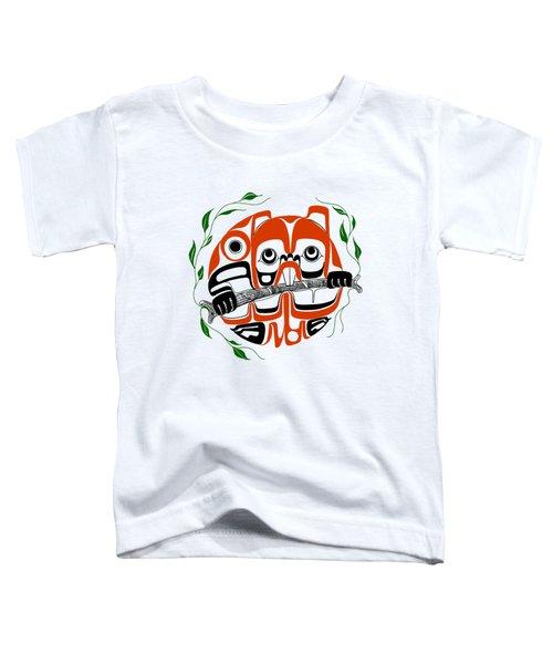 Beaver - Northwest Coast Formline Design Toddler T-Shirt