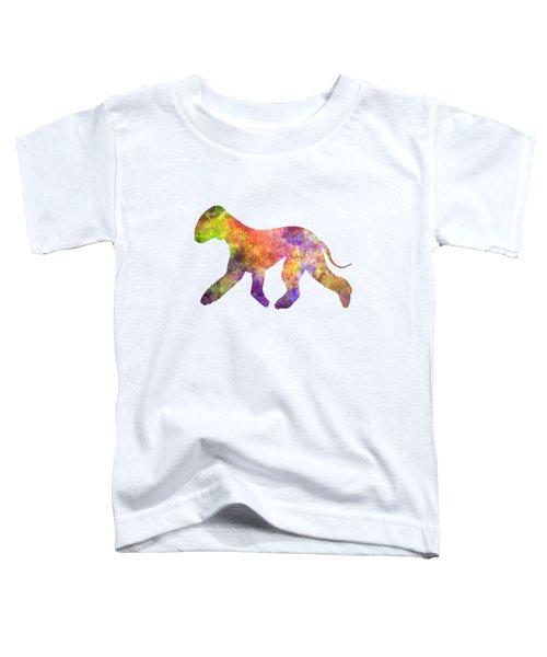 Bedlington Terrier 01 In Watercolor Toddler T-Shirt by Pablo Romero
