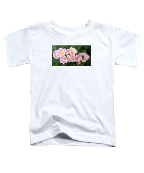 Bee And Roses Toddler T-Shirt