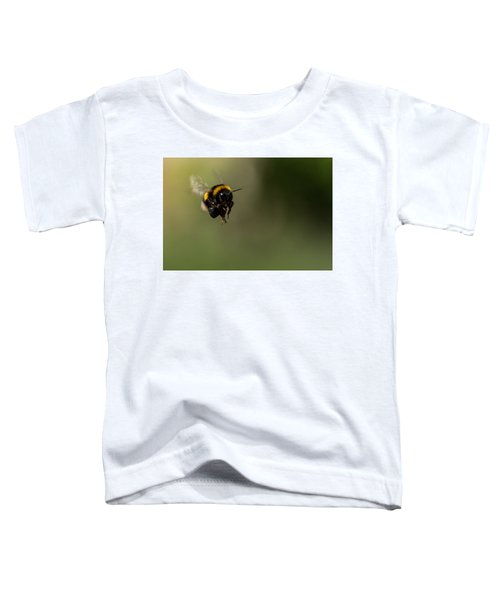 Bee Flying - View From Front Toddler T-Shirt