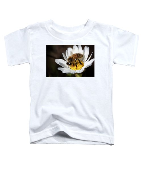 Bee On The Flower Toddler T-Shirt