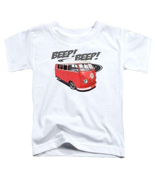 Beep Beep Bus Toddler T-Shirt