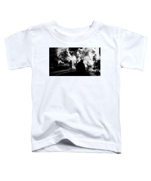 Behind The Smoke Toddler T-Shirt