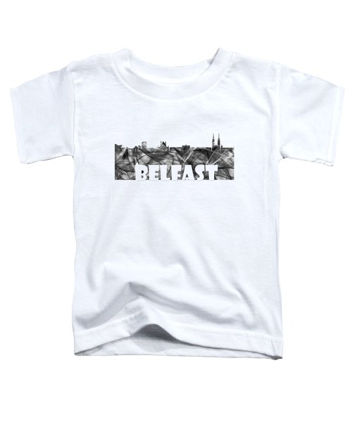 Belfast Ireland Skyline Toddler T-Shirt