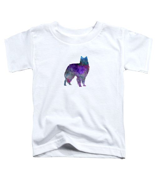 Belgian Shepherd Dog In Watercolor Toddler T-Shirt