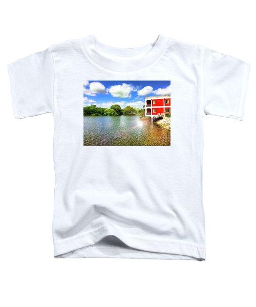 Belize River House Reflection Toddler T-Shirt