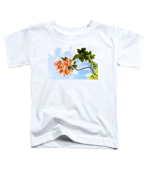 Bell Flowers In The Sky Toddler T-Shirt