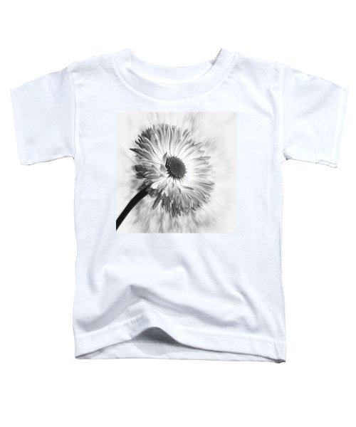 Bellis In Mono  #flower #flowers Toddler T-Shirt