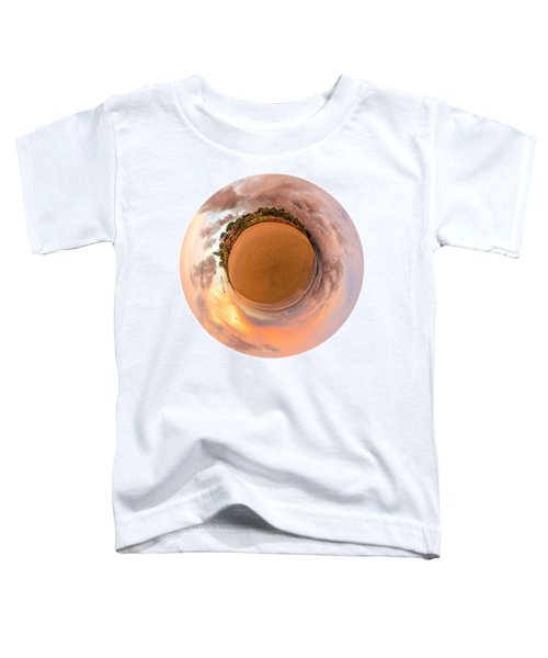 Toddler T-Shirt featuring the photograph Belongil Sunset In Byron Bay by Chris Cousins