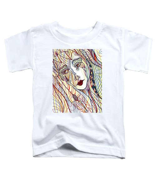 Beneath The Black Veil Toddler T-Shirt