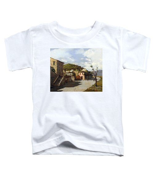 Provincia Di Benevento-italy Small Town The Road Home Toddler T-Shirt