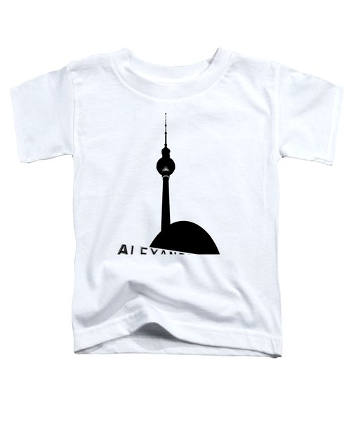 Berlin Alexanderplatz Toddler T-Shirt by Julie Woodhouse