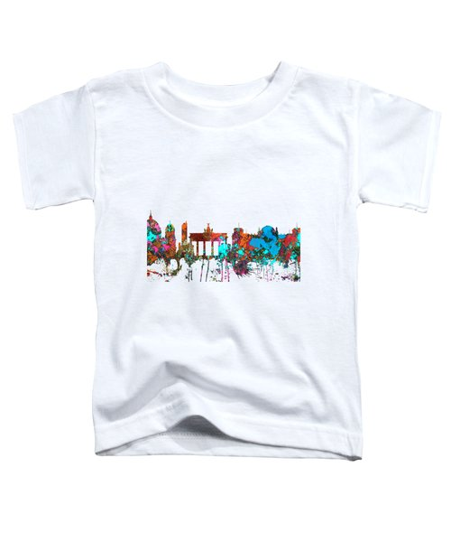 Berlin Germany Skyline  Toddler T-Shirt by Marlene Watson