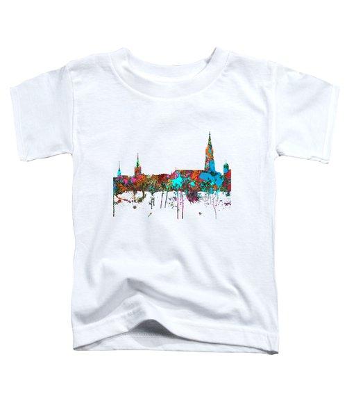 Berne Switzerland Skyline Toddler T-Shirt by Marlene Watson