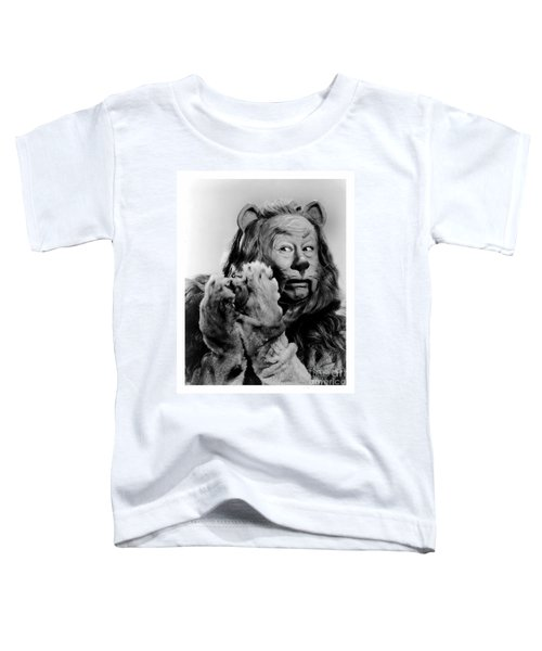 Cowardly Lion In The Wizard Of Oz Toddler T-Shirt