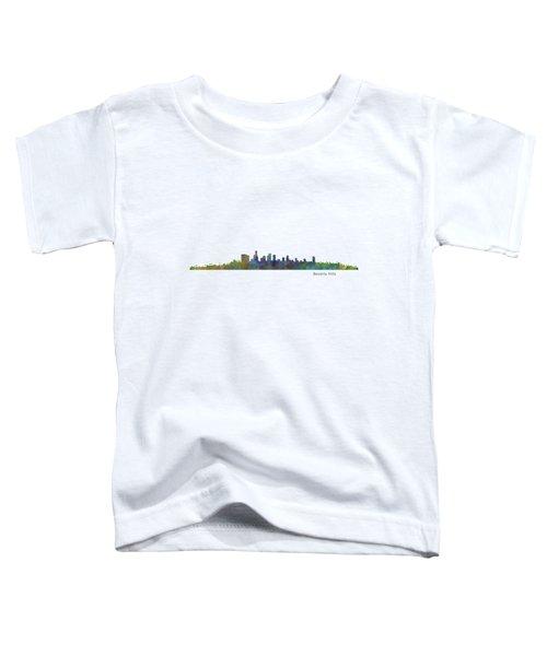 Beverly Hills City In La City Skyline Hq V1 Toddler T-Shirt
