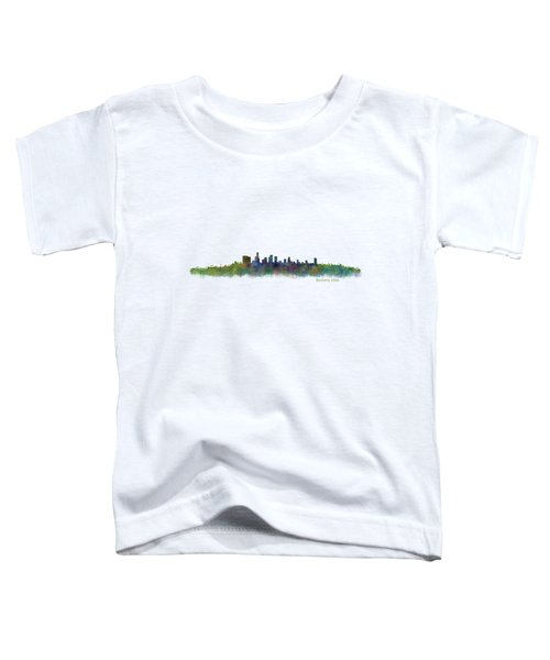 Beverly Hills City In La City Skyline Hq V2 Toddler T-Shirt by HQ Photo