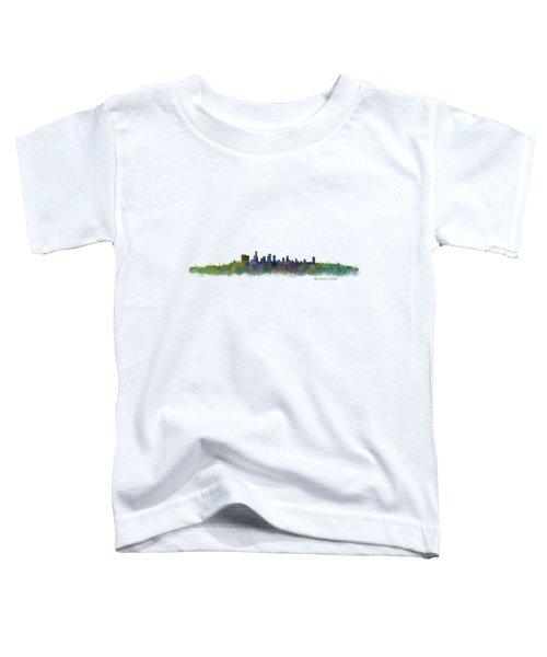 Beverly Hills City In La City Skyline Hq V2 Toddler T-Shirt