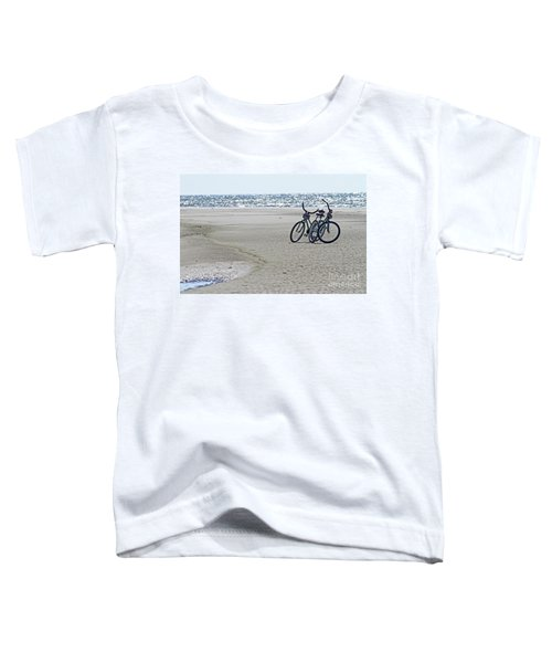 Bicycles On The Beach Toddler T-Shirt