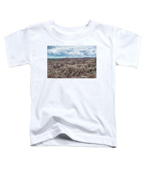 Big Overlook Badlands National Park  Toddler T-Shirt