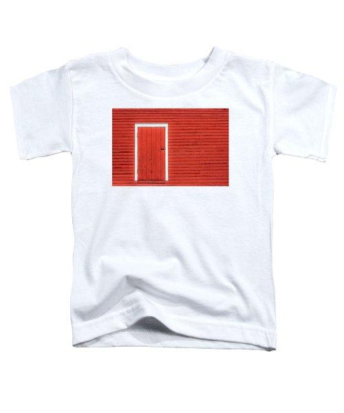 Big Red Door Toddler T-Shirt