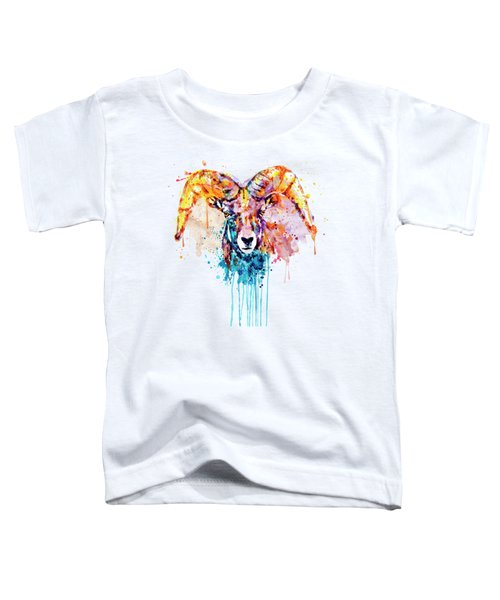 Bighorn Sheep Portrait Toddler T-Shirt