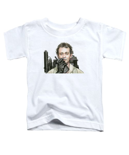 Bill Murray Ghostbusters Peter Venkman Toddler T-Shirt