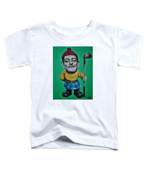 Bill Murray Golf Gnome Toddler T-Shirt
