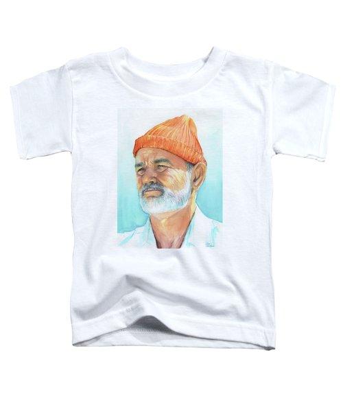 Bill Murray Steve Zissou Life Aquatic Toddler T-Shirt