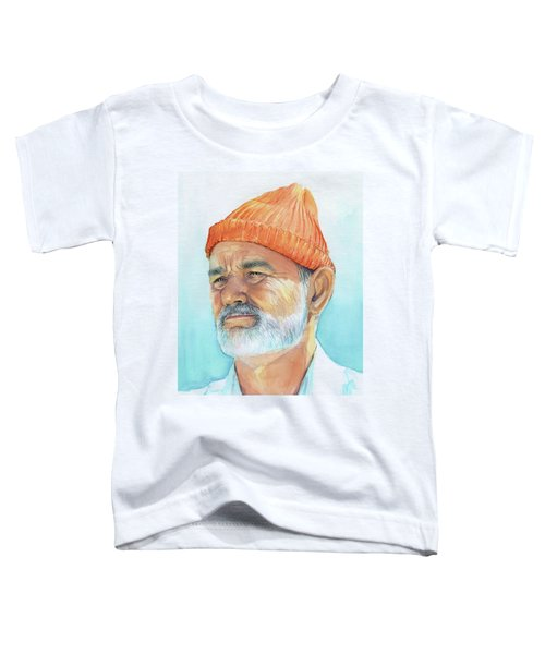 Bill Murray Steve Zissou Life Aquatic Toddler T-Shirt