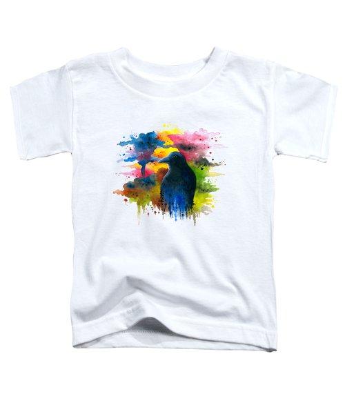 Bird 71 Crow Raven Toddler T-Shirt