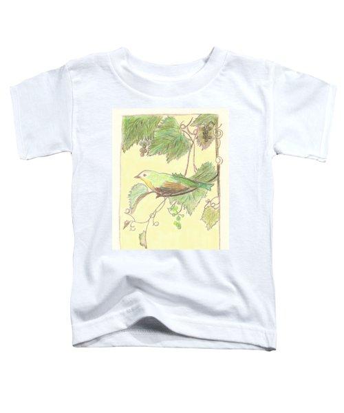 Bird On A Branch Toddler T-Shirt