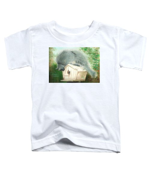 Birdie In The Hole Toddler T-Shirt