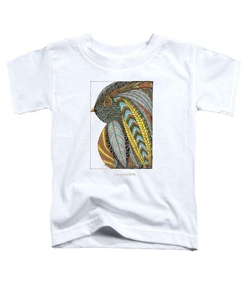 Bird_inquisitive_s007 Toddler T-Shirt