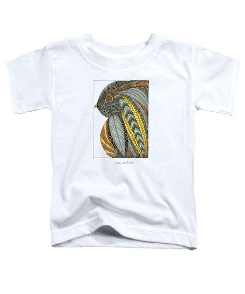 Bird_inquisitive_s007 Toddler T-Shirt