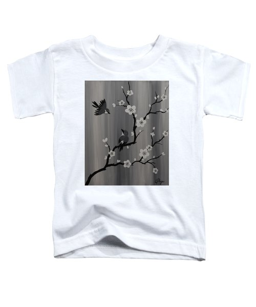 Birds And Blossoms Toddler T-Shirt