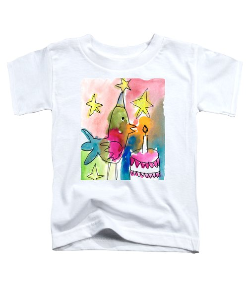 Birthday Bird Toddler T-Shirt