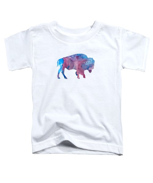 Bison Silhouette Toddler T-Shirt
