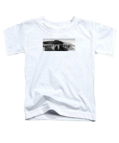 Bixby Bridge - Big Sur - California Toddler T-Shirt