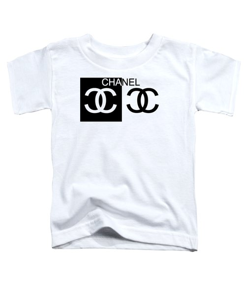 Black And White Chanel 2 Toddler T-Shirt