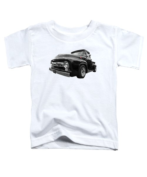 Black Beauty - 1956 Ford F100 Toddler T-Shirt