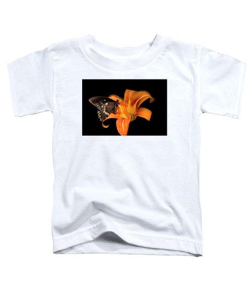 Black Beauty Butterfly Toddler T-Shirt