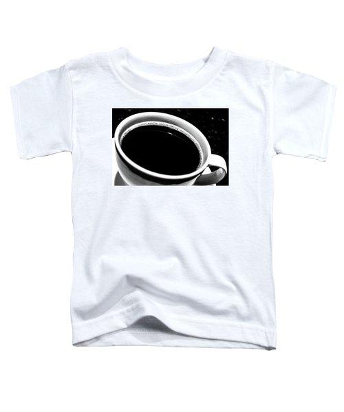 Black Coffee Toddler T-Shirt