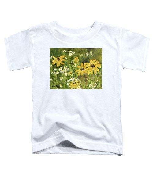 Black-eyed Susans In A Field Toddler T-Shirt