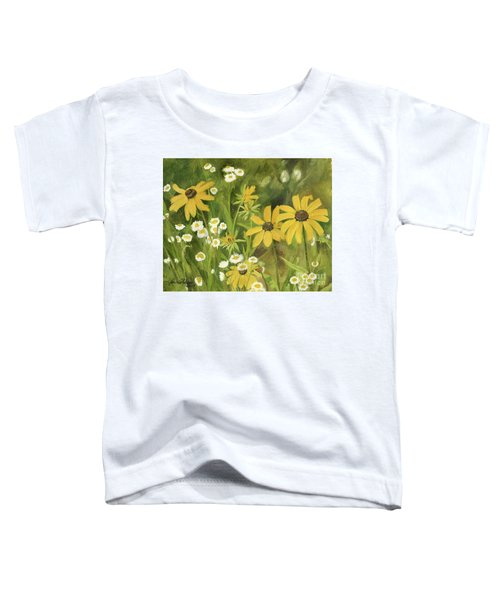 Black-eyed Susans In A Field Toddler T-Shirt