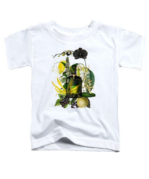 Black Orchid Notes - By Diana Van Toddler T-Shirt